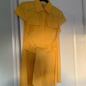 anne klein shirt/short dress